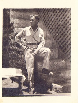 My father-in-law during WWII